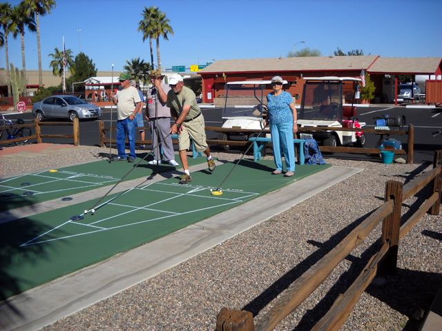 Activities - shuffleboard tournaments